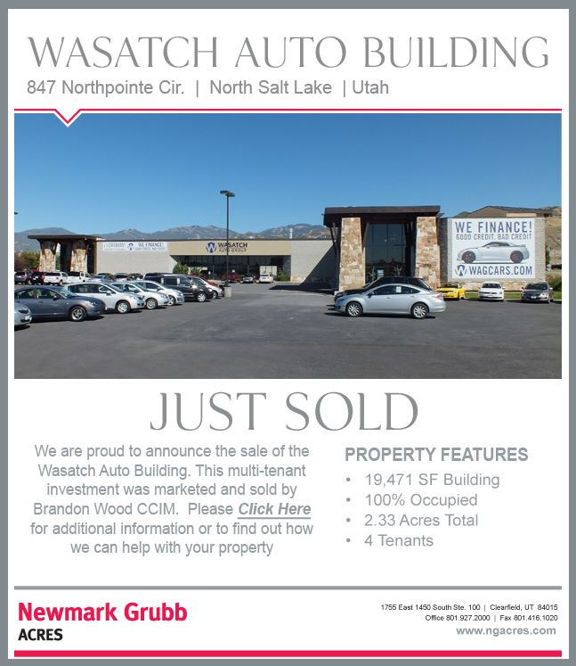wasatch auto building